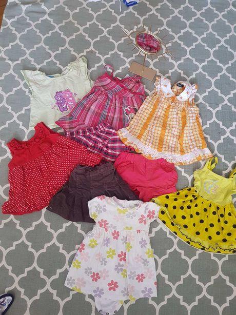Вещи детские брендовые zara Disney carter's 6 9 12 мес шорти платье