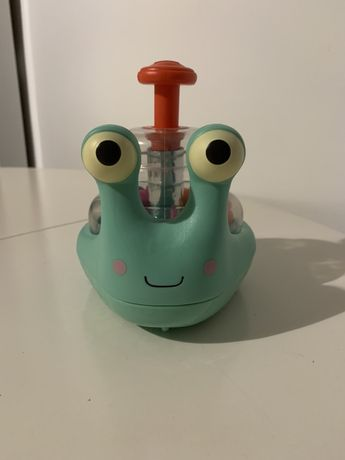 Świecący ślimak z kulkami B Toys