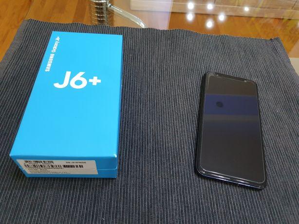 Samsung Galaxy J6+ plus szkło hartowane i etui