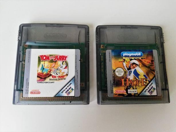 2 Jogos Game Boy Color Playmobil + Tom and Jerry