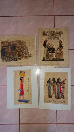 Papirus obraz egipski papirusy Egipt