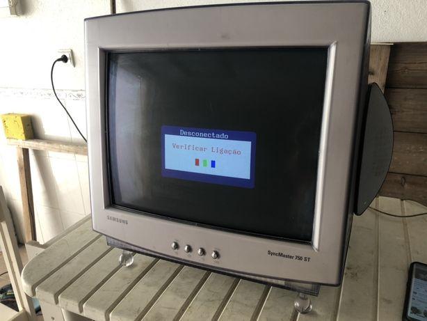 Monitor com colunas incorporadas da samsung