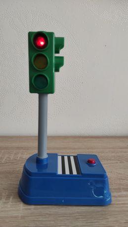 Модель Techno park Умный светофор со светом на украинском