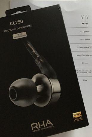 Słuchawki RHA CL750 Okazja -150 ohm!!!