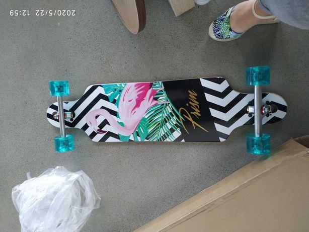Nowy Oryginalny Longboard Prism Deska Skate.