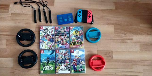 Nintendo switch duży zestaw
