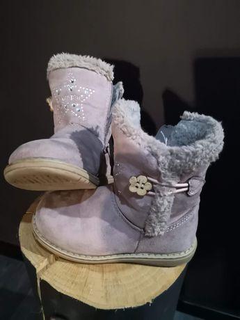 Buty zimowe dziewczynka r 26.