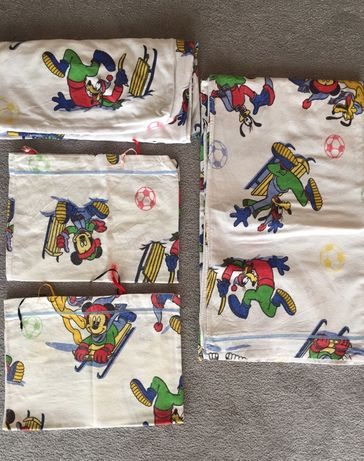 Conjunto lençóis flanela Disney - solteiro