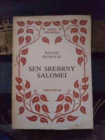 Książka Sen srebrny Salomei Juliusz Słowacki