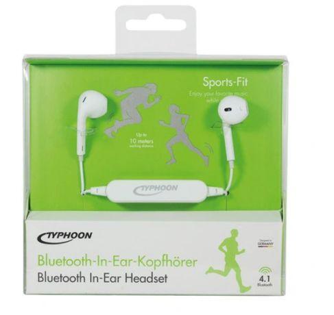 Słuchawki sportowe bezprzewodowe Bluetooth Stereo
