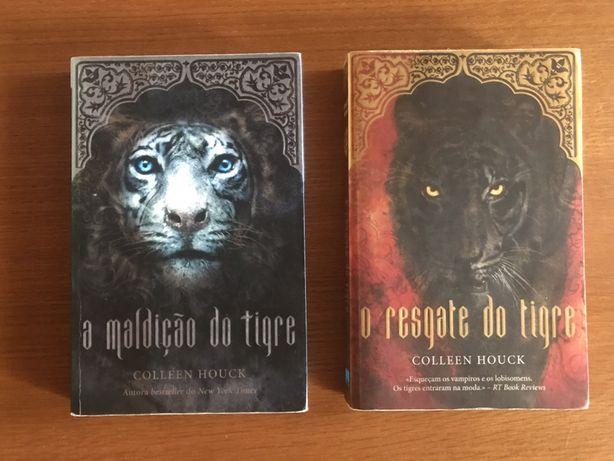 Saga A Maldição do Tigre vol. 1 e 2