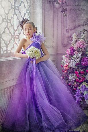 Шикарное платье для фотосессии, свадьбы, выпускного 9-11 лет