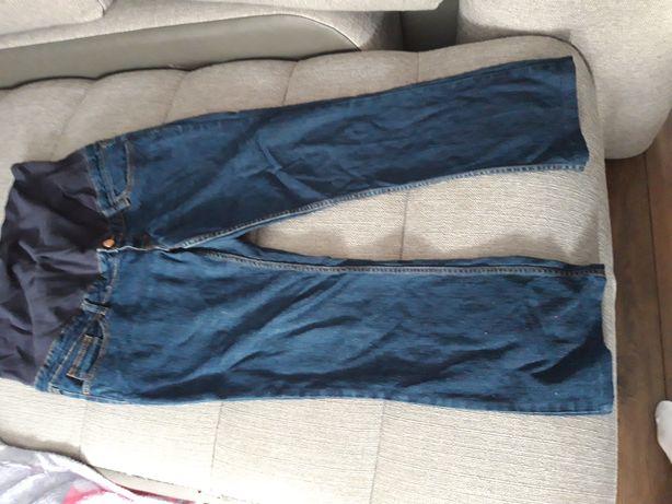 Jeansy ciążowe xl