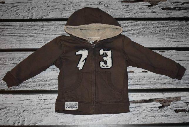 Bluzo- kurtka na kożuszku rozmiar 98