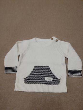 Sweterek newbie dla chłopca 56
