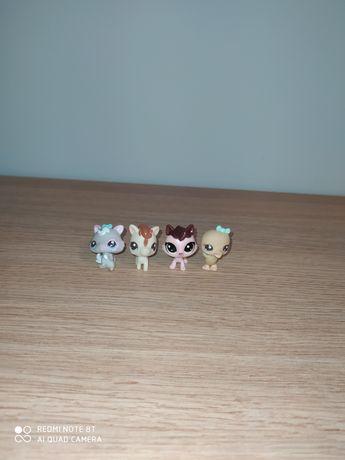 Zestaw 4 małych LPS Hasbro
