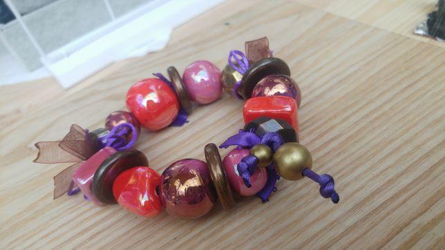 Bransoletka nowa biżuteria ozdoba korale perły