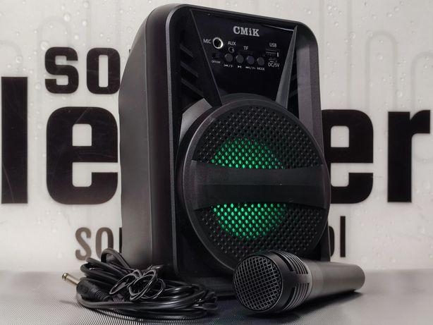Zestaw karaoke głośnik bluetooth bezprzewodowy przenośny radio
