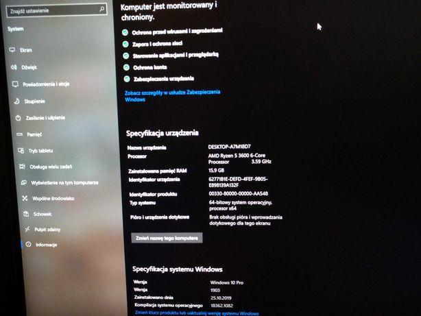 Komputer Gamingowy PROMOCJA! R5 3600/RTX/16GB