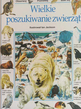 Wielkie Poszukiwanie Zwierząt ilustr. Ian Jackson