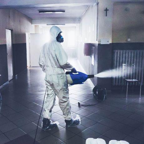Skuteczna dezynfekcja pomieszczeń - ozonowanie i zamgławianie