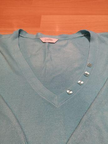 Sweterek niebieski rozmiar 14