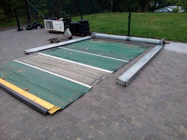 brama garazowa warsztatowa hala segmentowa rolowana kurtyna wiata