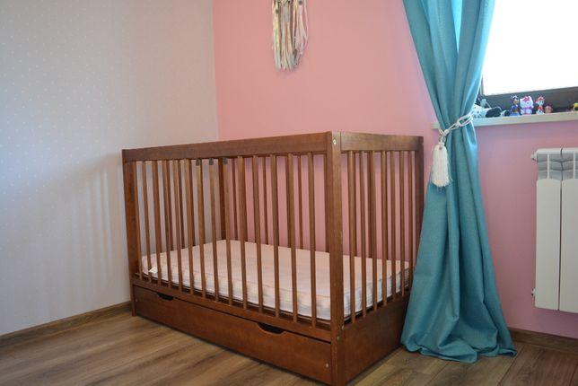 Lózeczko niemowlece 60x120 z szuflada