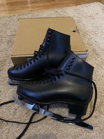 WIFA nowe łyżwy figurowe czarne r 42 jak edge jackson progesjonalne