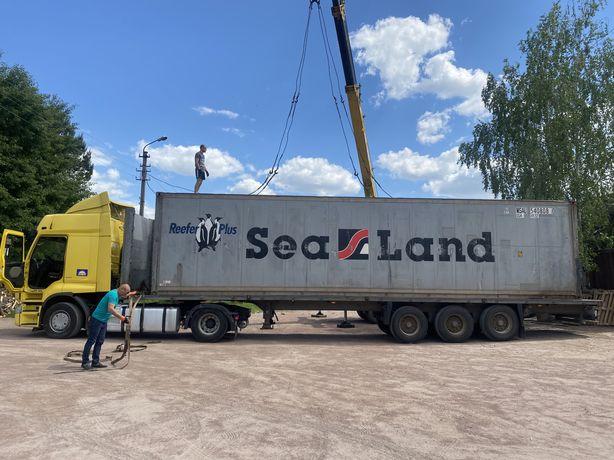 Рефрижераторный контейнер 45 футов высокий широкий