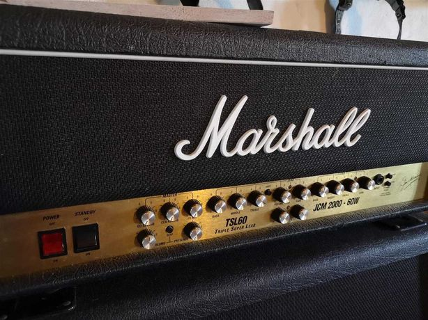 Marshall JCM2000 + Coluna JCM900