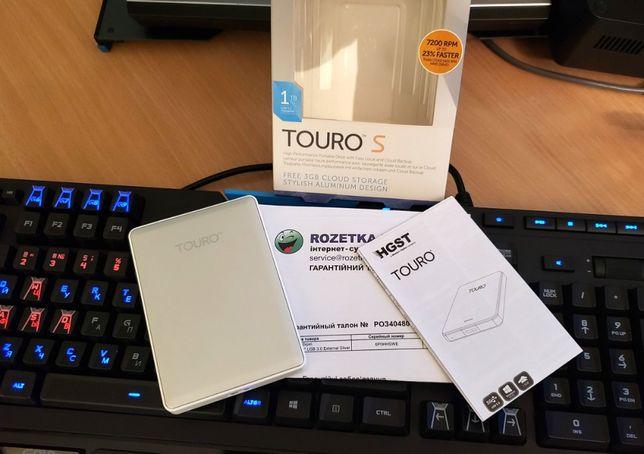 "Mobile HDD 2.5"" USB Hitachi Touro 1TB (HGST Travelstar 7200) внешний"