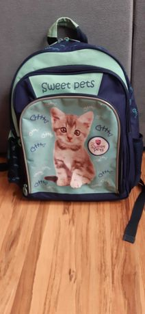 Plecak szkolny sweet pets