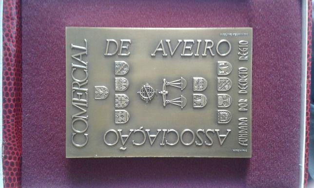 medalha dos 130 anos da Associação Comercial de Aveiro rara