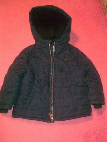 фирменная утепленная курточка для малыша