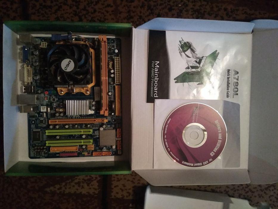 Продам материнку+процессор+ОЗУ Белореченский - изображение 1