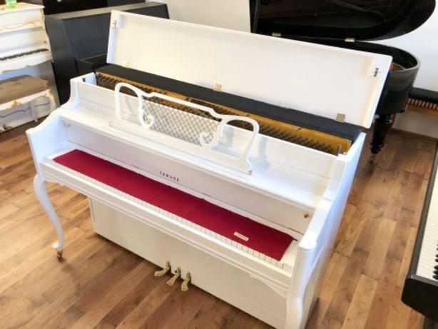 Pianino biale Yamaha console M2H jedyne w Pl all inclusive