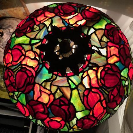 Lampa witrażowa Tiffany - polska pracownia, 100% praca ręczna!