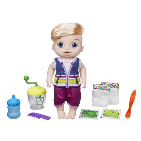 Большая кукла Baby Alive Spoonfuls ест, ходит в памперс  Оригинал
