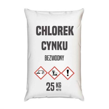 Chlorek cynku bezwodny 25 kg