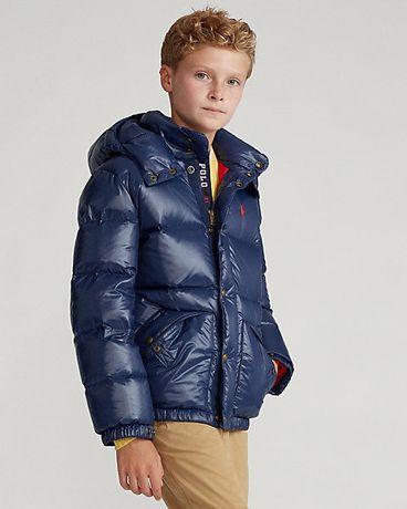 Пуховик, куртка Ralph Lauren. Размер L ( возраст 14-16 лет)Оригинал!