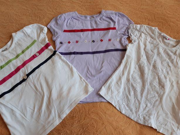 Школьные футболки блузки на жару на 7-9 лет 3 по цене 1