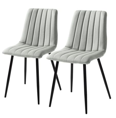 krzesło tapicerowane do kuchni salonu Jobo 2 szt. M015