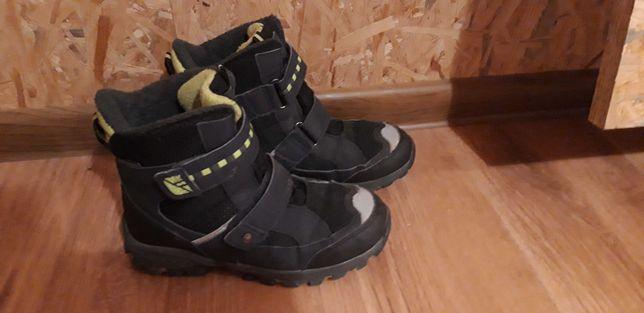 Buty zimowe  dla chłopca  na śnieg rozm.34
