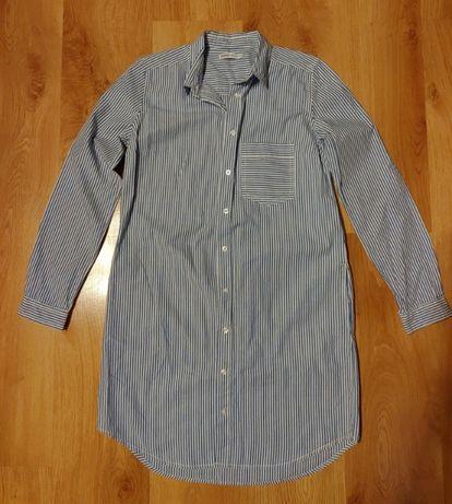 Koszulowa sukienka / tunika Cropp 36 / S