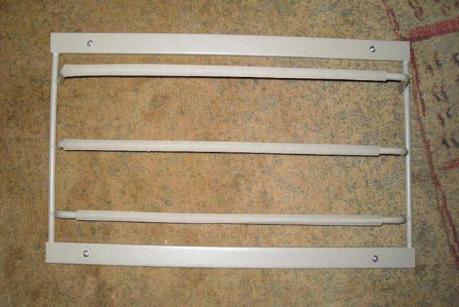Wieszak do szafy 60 cm na krawaty, apaszki, torebki