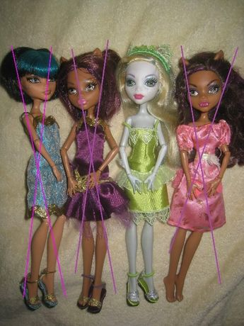 Куклы Монстер Хай оригинал Monster High Mattel