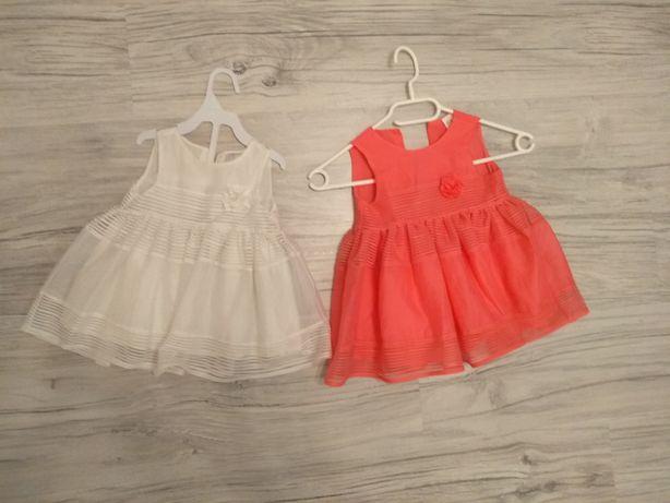 Śliczna sukienka h&m r. 68/74 dla dziewczynki