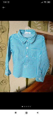 Рубашка на хлопчика