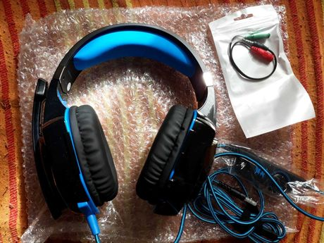 Vendo Gaming Headphones com LED e Controlo de Volume